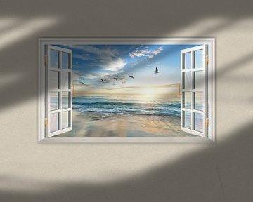 Ein atemberaubender Blick auf das Meer von Bert Hooijer