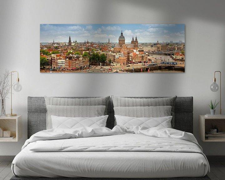 Impression: La plus ancienne partie du centre ville d'Amsterdam sur Frans Lemmens