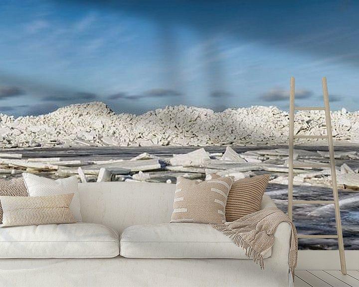 Impression: De la glace rampante au phare de Marken sur Frans Lemmens