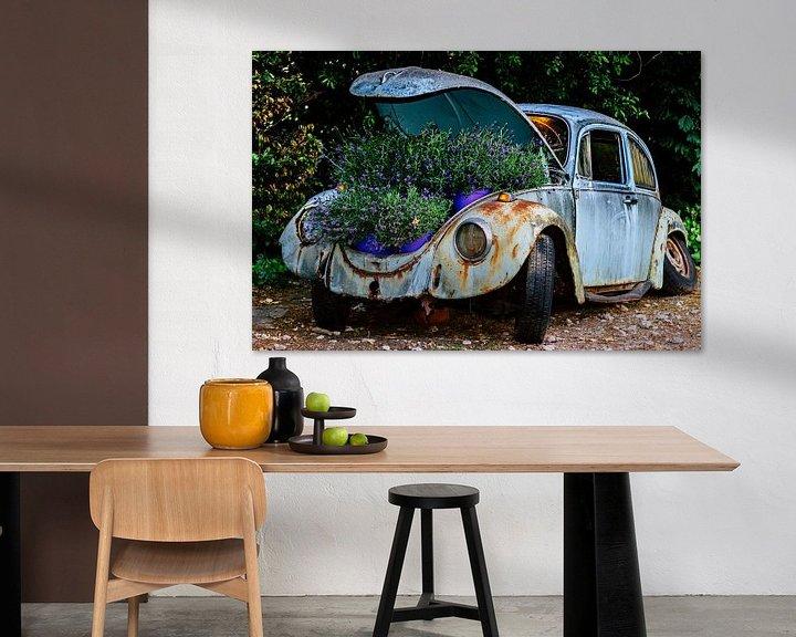 Sfeerimpressie: Recycle oude VW kever van Clazien Boot