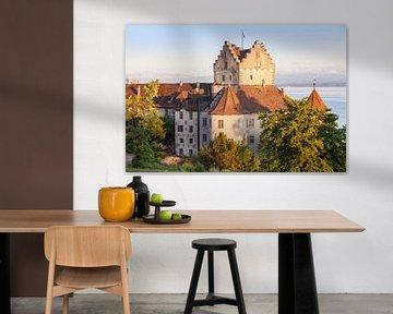 Burg Meersburg am Abend von Jan Schuler