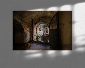 Blick von einer historischen Waterline-Festung von Michel Knikker