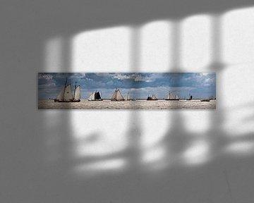 Les voiliers de la Flotte Brune