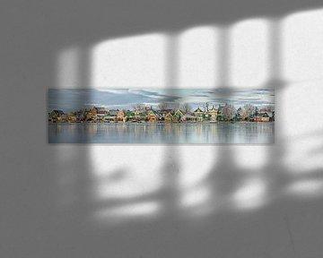 Panorama des maisons de Zaan le long du Zaan