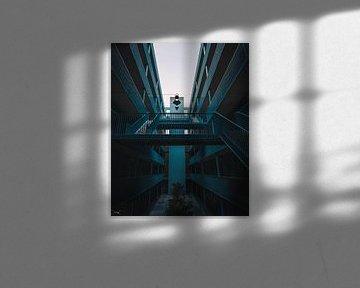 wenn Sie in einen Treppenhausflur starren von Sabine Brederode Photography