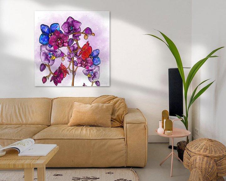 Beispiel: Blumenmotiv - Orchidee von Patricia Piotrak