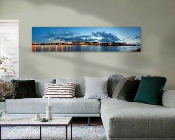 Kampen panorama van Sjoerd van der Wal