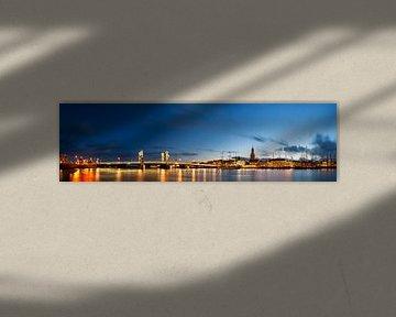 Kampen panorama met zicht op de IJssel van Sjoerd van der Wal