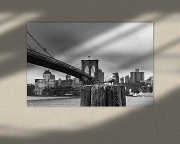Brooklyn-Brücke - New York City von Sander de jong
