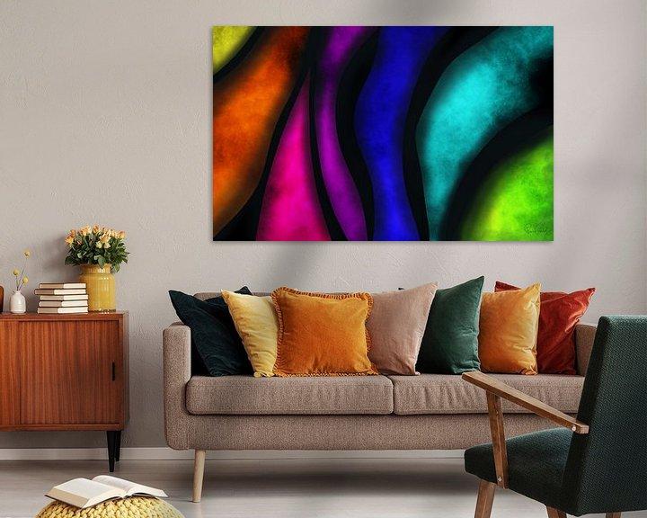 Beispiel: Abstrakte Kunst - Kontrast von Patricia Piotrak