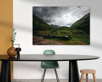 Landschap in Schotland van Katrin Friedl