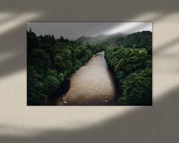 Rivier in Schotland van Katrin Friedl