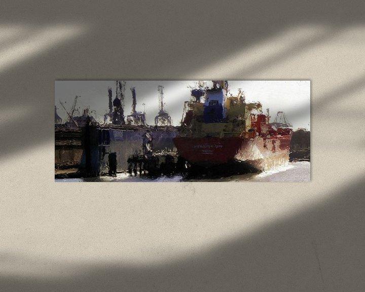 Beispiel: Schiffswerft Damen von Frans Jonker