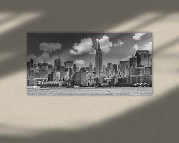 MIDTOWN MANHATTAN | Monochrome sur Melanie Viola