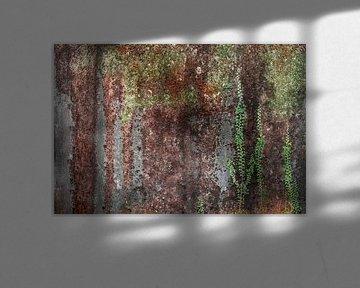 Beton oude muur Fotobehang 7 van Olivier Photography