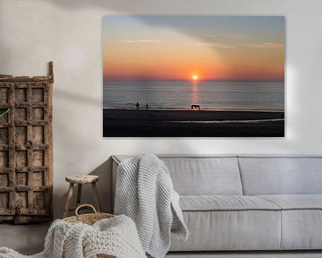Sonnenuntergang in Callantsoog von Danny Tchi Photography