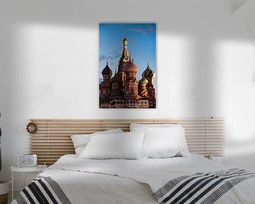 Basilius-Kathedrale in Moskau von Kris Christiaens