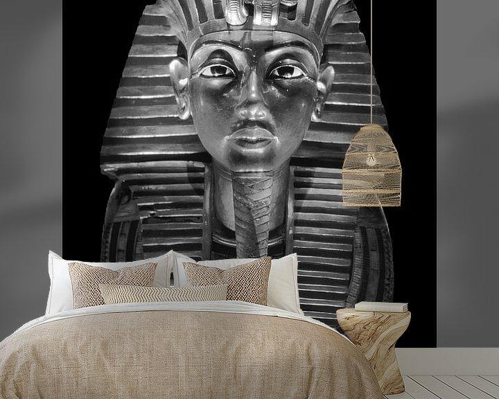Beispiel fototapete: Die Totenmaske des Tutanchamun von Frans Lemmens