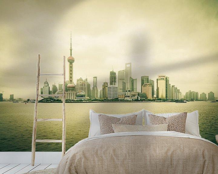Sfeerimpressie behang: Pudong van Denis Feiner