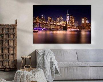 Skyline New York van Frank Peters