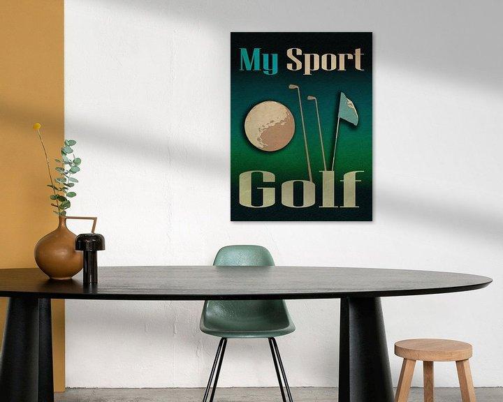 Beispiel: Mein Sport Golf von Joost Hogervorst