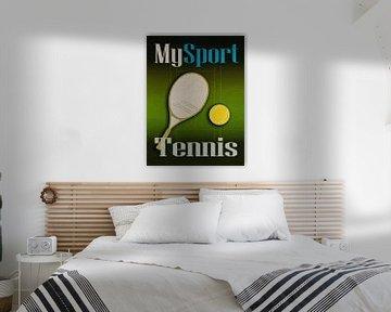 Mein Sport Tennis von Joost Hogervorst