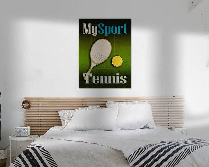 Beispiel: Mein Sport Tennis von Joost Hogervorst