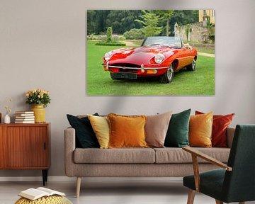 Jaguar E-Type Roadster sportwagen van Sjoerd van der Wal