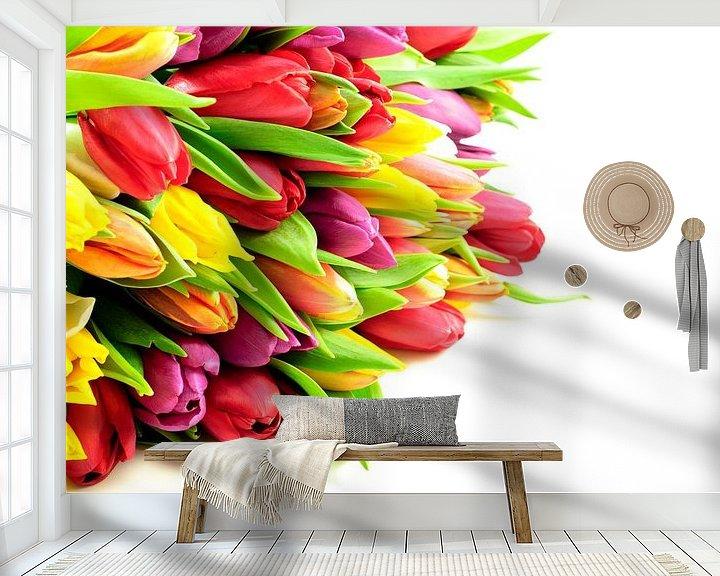 Impression: Tulpen Mix Bos Liggend Links sur Erwin Plug