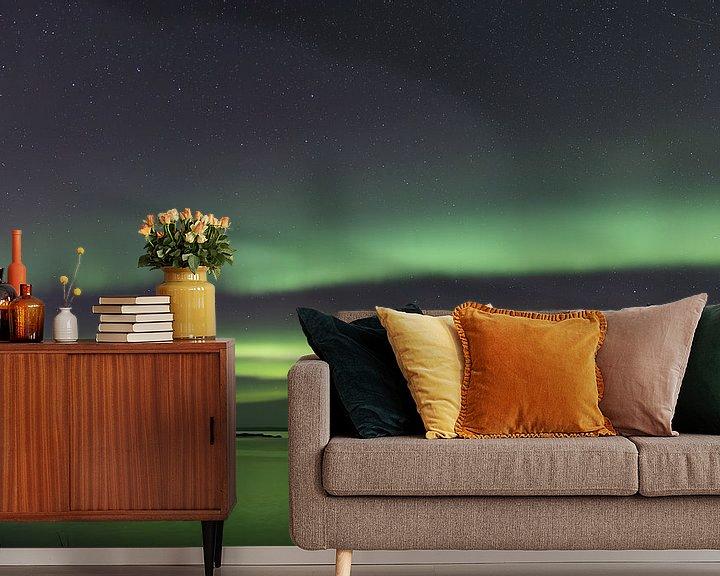 Beispiel fototapete: Noorderlicht over Håja von Nathalie Daalder