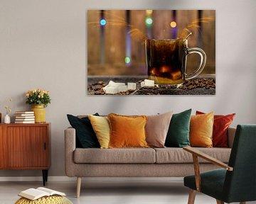 Koffie, alsof er een engeltje over je tong..... van Rianne Groenveld