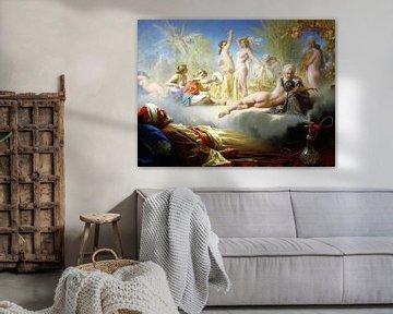 Erotischer Traum des Gläubigen, Achille Zo - 1870 von Atelier Liesjes