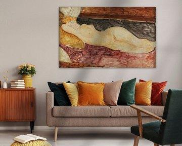 Nackt liegend, Amedeo Modigliani - 1919 von Atelier Liesjes