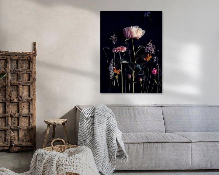 Beispiel: Blumenporträt (Pfingstrose) von Ineke VJ