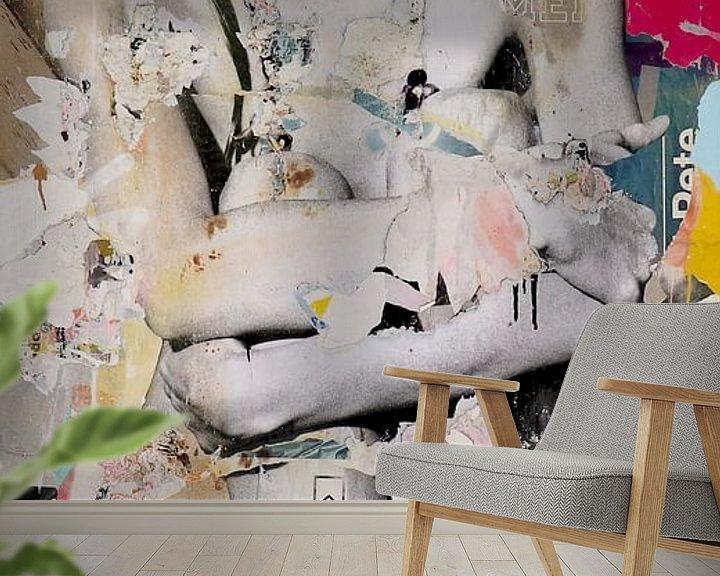 Sfeerimpressie behang: Wait and See van Michiel Folkers