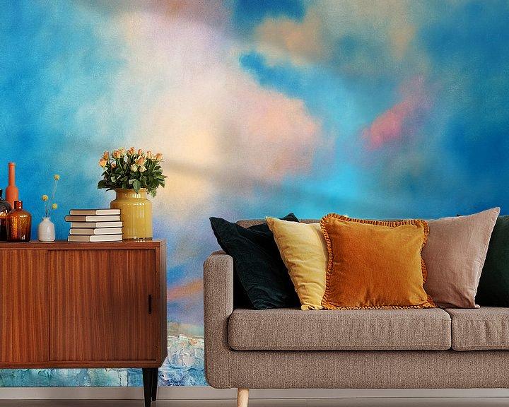 Sfeerimpressie behang: Zachte stilte van Annette Schmucker