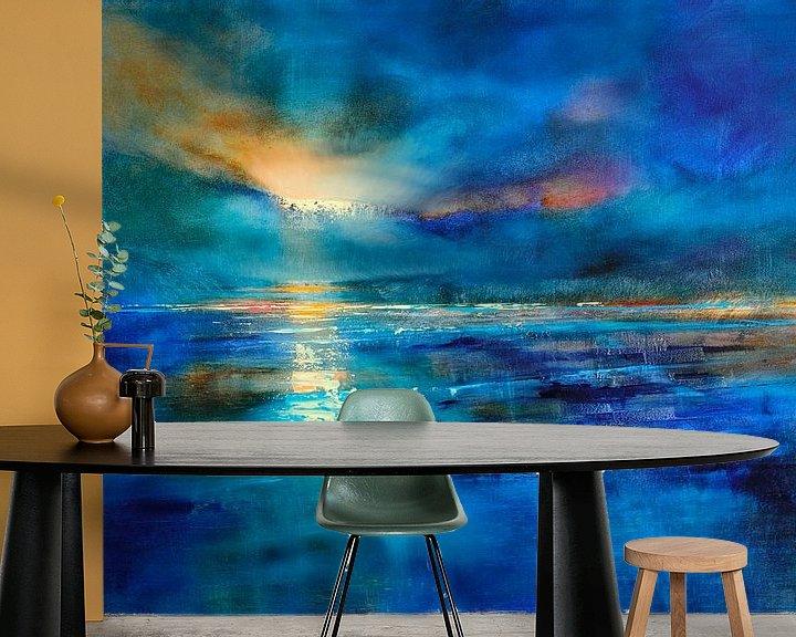 Sfeerimpressie behang: iceland van Annette Schmucker