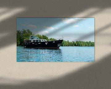 Boot in de moringerwaarden van Barry van Rijswijk