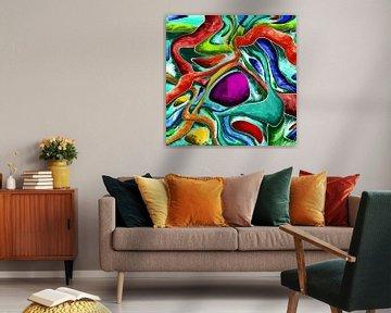 Abstrakte Kunst - Paradox