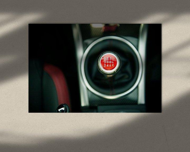 Beispiel: Subaru-Schalthebel von Sytse Dijkstra