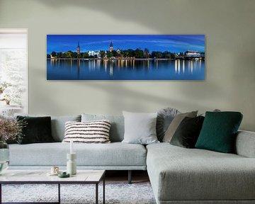 Berlin Köpenick - Panorama à l'heure bleue