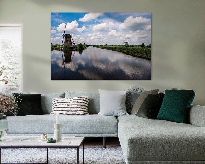 Impression: Moulins à vent sur le Kinderdijk. sur Brian Morgan