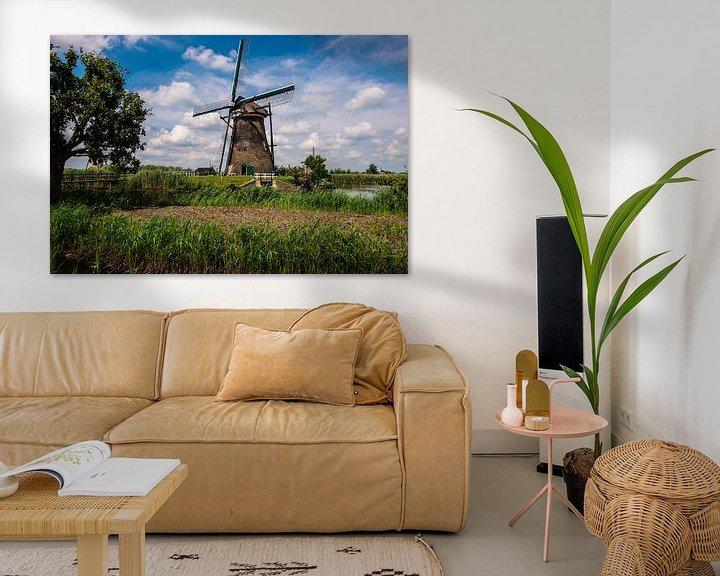 Sfeerimpressie: Windmills Holland van Brian Morgan