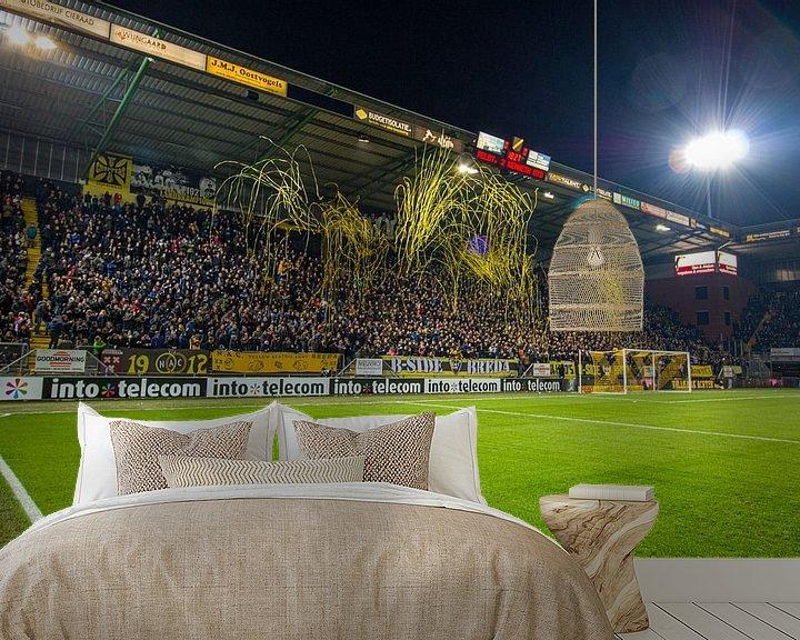 Beispiel fototapete: Rat-Verlegh-Stadion: Die B-Seite von Martijn Mureau
