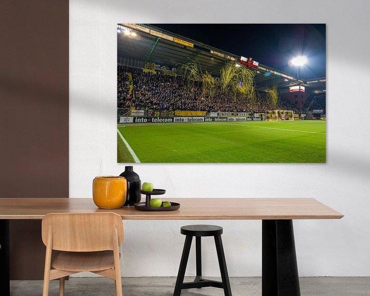 Beispiel: Rat-Verlegh-Stadion: Die B-Seite von Martijn Mureau