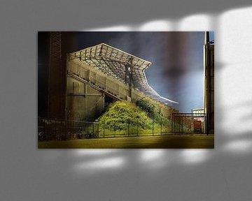 Het Bosuilstadion, Antwerpen: Tribune 2 van Martijn Mureau