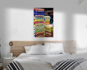 Eieren op de markt van Ivonne Wierink