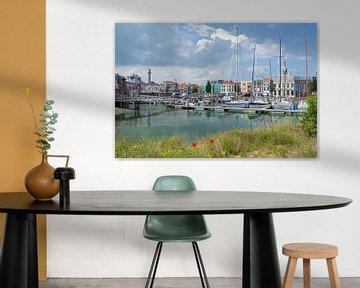 Jachthaven Michiel de Ruijterhaven in Vlissingen van Judith Cool
