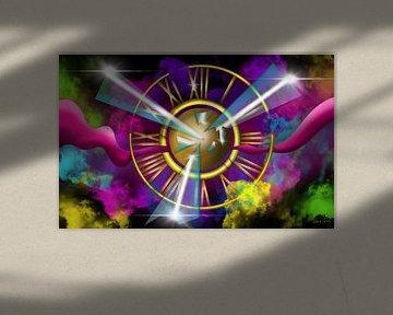 Airbrush Bild - Die Zeitreise - Am Ende der Zeit von Patricia Piotrak