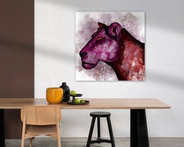 Die rote Löwin von Patricia Piotrak